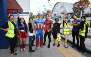More Energy Brunel's Superhero Fun Run for Cancer Research