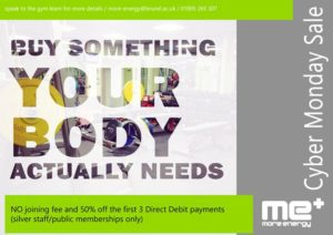 cyber monday sale at More Energy Brunel