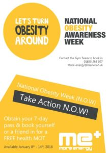 National Obesity Week with More Energy Brunel